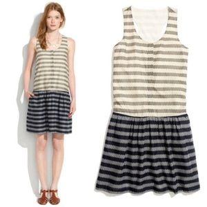 Madewell Trellis Drop Waist Dress | M